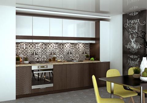 Модульная кухня Терра Глос