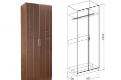 Шкаф 2х Палермо