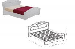 Кровать №1  Ева