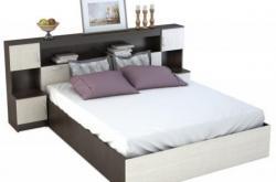 Кровать Бася с закроватным модулем
