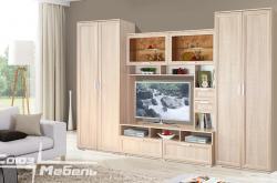 Модульная гостиная Корвет люкс Вар 9