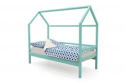 Детская кровать - домик Svogen Мятный