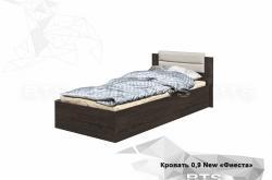 Кровать Фиеста 0,9 NEW
