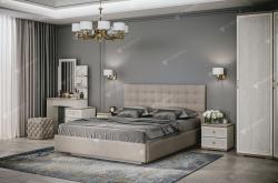 Кровать двойная №2 Квадро 1,4