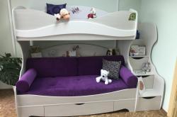Кровать двухъярусная Акварель 1