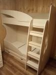 ДМ-16/ Кровать двухъярусная с ящиком Вега